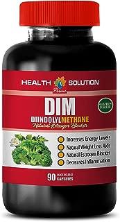Immune System Vitamins for Men - DIM DIINDOLYLMETHANE - Natural Estrogen Blocker - dim Supplement Weight Loss - 1 Bottle 90 Capsules