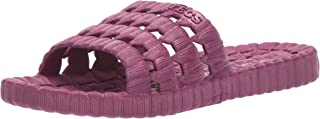 TECS PVC Slide Sandals for Women, Beach Flip Flip & Lightweight Water Shoe with Open Toe, for Showers, House Slipper Dorms...