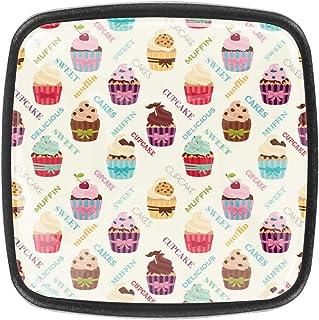Délicieux petits gâteaux colorés 4 PCS Tiroir de Porte Poignée, Bouton de Meubles, Boutons de Tiroir, Boutons de Porte, Po...