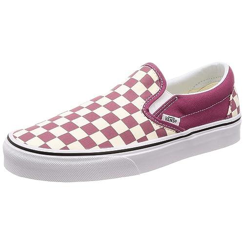 3de7d95b4e Vans Unisex Classic (Checkerboard ) Slip-On Skate Shoe
