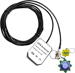 HQRP antena externa GPS para GPSMAP 130 / 135 Soundeur / 152 / 152H / 162 / 168 Soundeur / 172C + HQRP medidor del sol