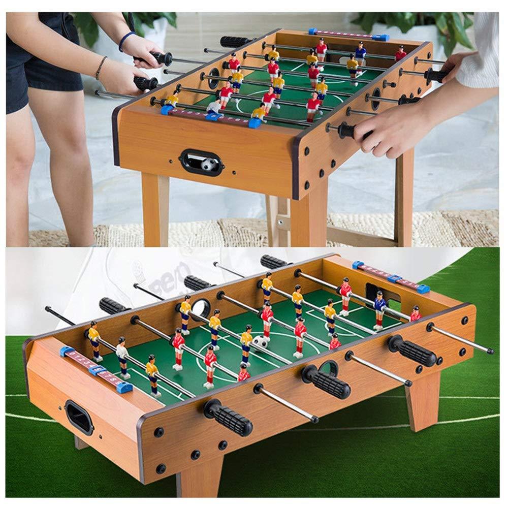 Quskto Futbolines Juego de Padres e Hijos Juego de Mesa de Competencia de fútbol de futbolín 3-6 Habitación para niños Juguete Deportivo Adultos con Mango ergonómico Horas diversión de la FA: Amazon.es: