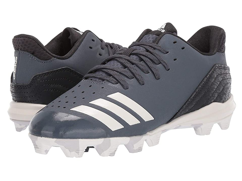 adidas Kids Icon 4 MD Baseball (Toddler/Little Kid/Big Kid) (Onix/Cloud White/Carbon) Kids Shoes