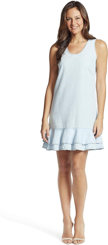 Ella Finally popular brand Moss Women's Ruffle Dress Popular brand Pullover Hem