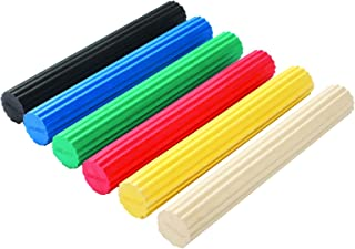 CanDo 10-1516 Twist-n-Bend Flexible Exercise Bar, 6-piece Set, 12