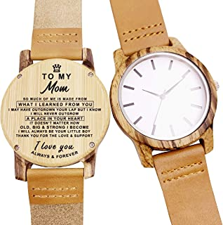 engraved watches for mom