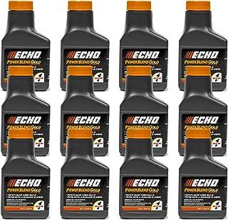 12PK Echo Oil 2.6 oz Bottles 2 Stroke Cycle Mix for 1 Gallon - Power Blend 6450001