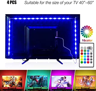 Led Strip Lights 6.56ft for 40-60in TV, PANGTON VILLA USB...