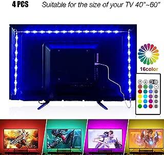 Led Strip Lights 6.56ft for 40-60in TV, PANGTON VILLA USB...