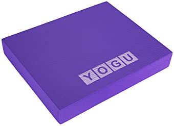 Balance Foam Pad with Tear-Resistant EVA Foam, Sweat Proof Stability Foam Trainer Cushion, Balancing Stabilization Pa...