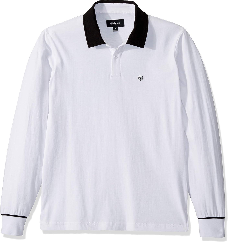 BRIXTON Mens Hilt Tailored Fit Long Sleeve Knit Shirt