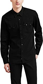 Men's Sawtooth Western Denim Snap Shirt