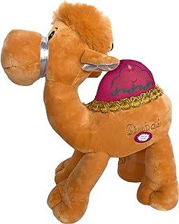 Stuffed Animals Plush Teddy Bear Camel 30cm | Dubai UAE Souvenir with Music tune | Cute Soft Toy for Kids Babies Child Boy...