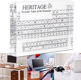 ديكورات سطح المكتب الجدول الدوري للعناصر الكيميائية أدوات تعلم الطلاب هدايا المعلم فن فن الحرف الديكور