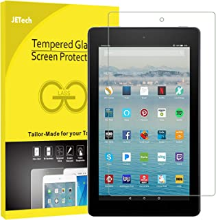 "JETech Screen Protector for All-New Amazon Fire HD 10 (7th Generation - 2017 Release) 10.1"" Tablet Tempered Glass Film"
