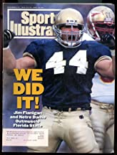 SI: Sports Illustrated November 22, 1993 We Did It! Jim Flanigan Notre Dame GOOD