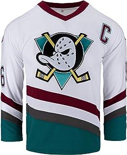 Charlie Conway Camiseta #96 Mighty Ducks Hockey sobre hielo Jersey verde/blanco