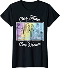 Womens Disney Princesses One Team One Dream Graphic T-Shirt