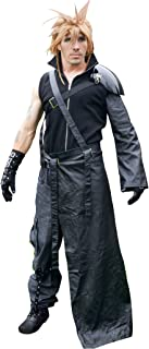 DAZCOS Adult US Size Dark Cloud Strife Cosplay Costume with Shoulder Armor