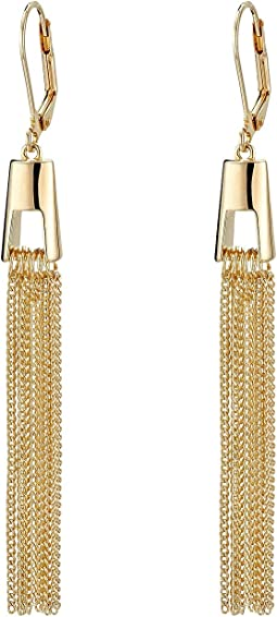 Cole Haan Architectural Finge Earrings