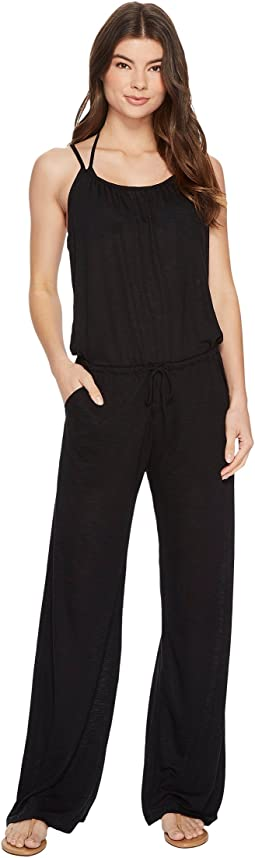BECCA by Rebecca Virtue Breezy Basics Jumpsuit Cover-Up