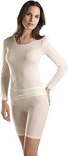 Hanro Women's Long Sleeve Shirt - Pure Silk