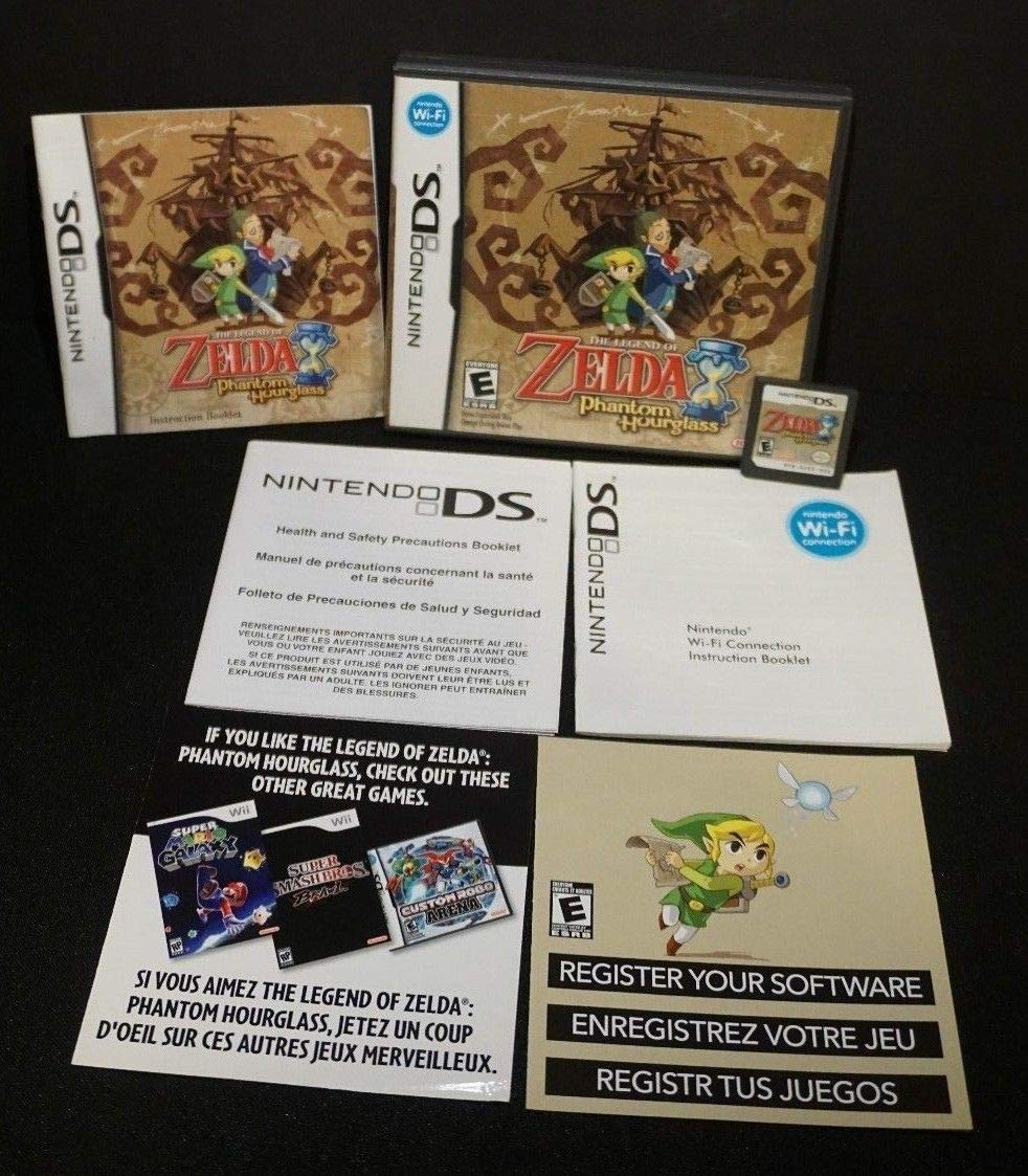 The Legend of Zelda: Phantom Brand new Hourglass Nintendo DS Lowest price challenge -