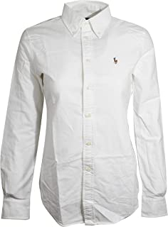 Women's Slim Fit Long Sleeve Shirt Buttondown