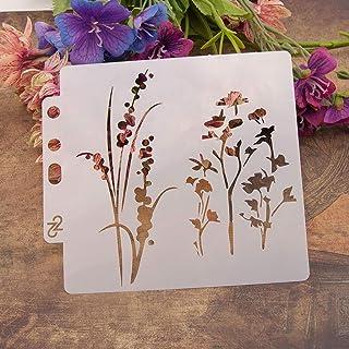 Haven Shop Plantillas de bricolaje, plantillas de árbol, plantilla de pintura, álbumes de recortes, estampado, álbum de manualidades