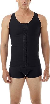 c15b864c9db1d Underworks Mens Extreme Gynecomastia Chest Binder Vest