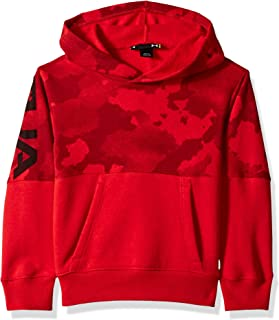 red camo sweater