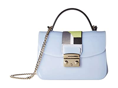 Furla Candy Meringa Brava Mini Crossbody (Violetta) Handbags