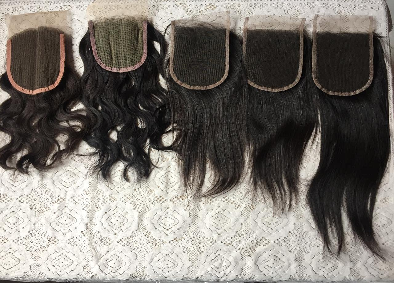 Recommended Closure Raw Indian Hair 20 Inch - lowest price