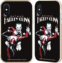 Head Case Designs Oficial Joker Art - Carcasa para iPhone con diseño de ventana de color dorado, compatible con Compatibilité: Apple iPhone X / iPhone XS: 64GB, 256GB & 512GB