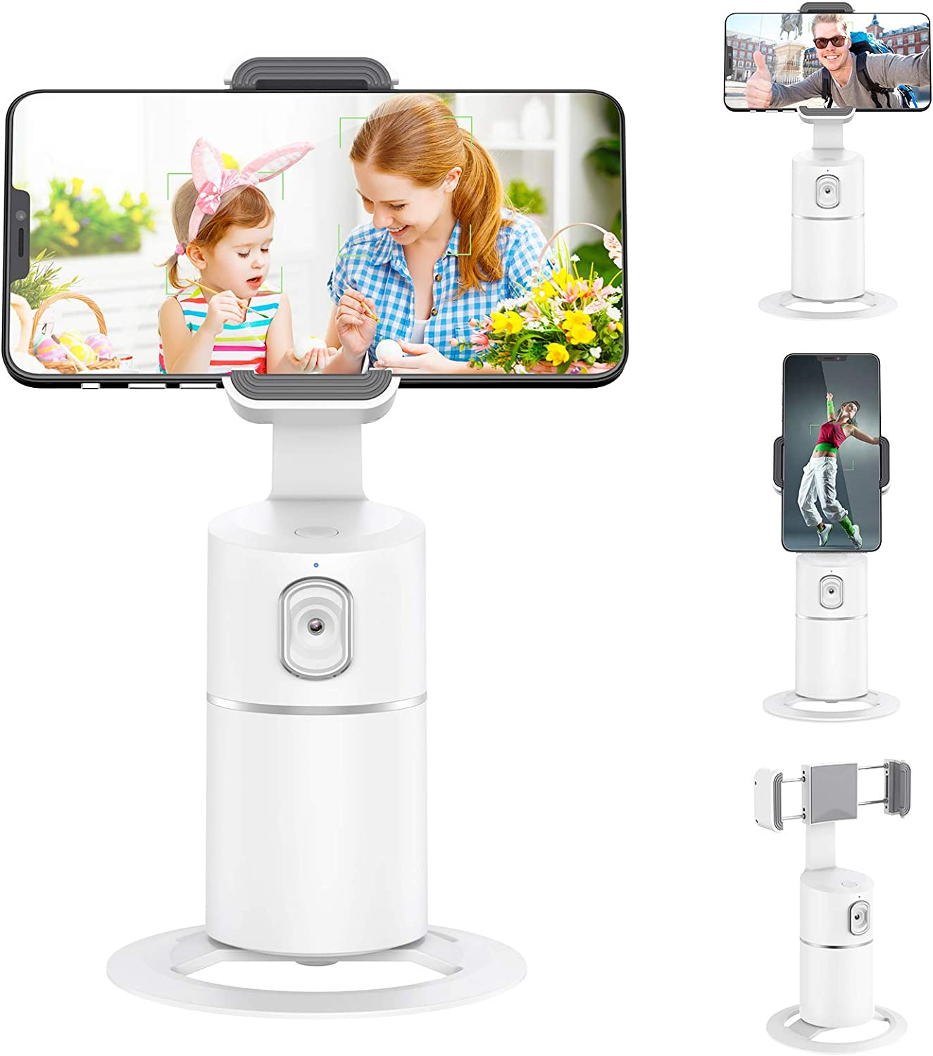 Face Tracking Phone Holder 360 Sale price Auto Long Beach Mall Camera Degree Rotate