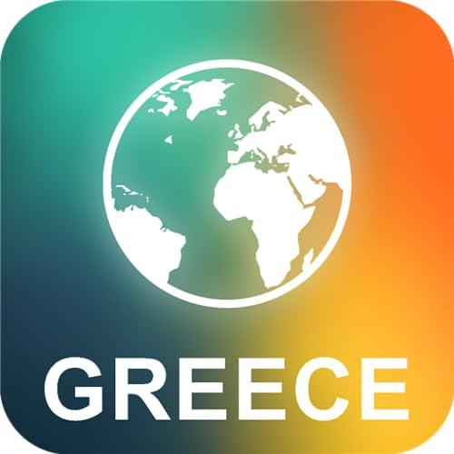 Grecia Offline Mapa