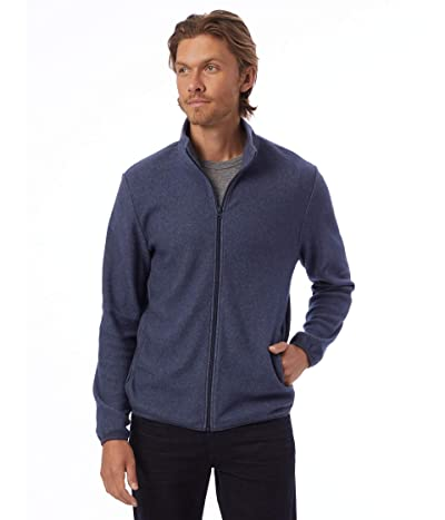 Alternative Eco-Teddy Full Zip Jacket (Eco Navy) Men