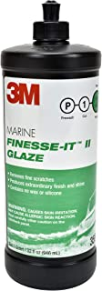 3M Marine Finesse-it II Glaze (35928) – For Polishing Boats and RVs – 1 Quart