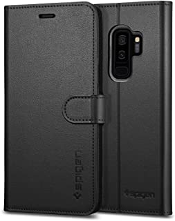 Spigen Wallet S Designed for Samsung Galaxy S9 Plus Case (2018) - Black