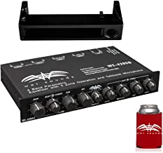 $509 » Sponsored Ad - wet sounds WS-420SQ 3-Zone Equalizer with WS-EQUDM-B Black Under Dash Mount