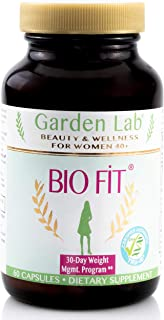 Fat Reduction Support Women | Pre + Menopause: Belly + Arms | Natural Energy & Skin Healthy Aging | Concentrate Herbals | 3rd Party Lab Tested for Quality | Supplement 60 Veg.Caps