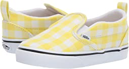 11d0af100f (Gingham) Blazing Yellow True White. 70. Vans Kids. Slip-On ...