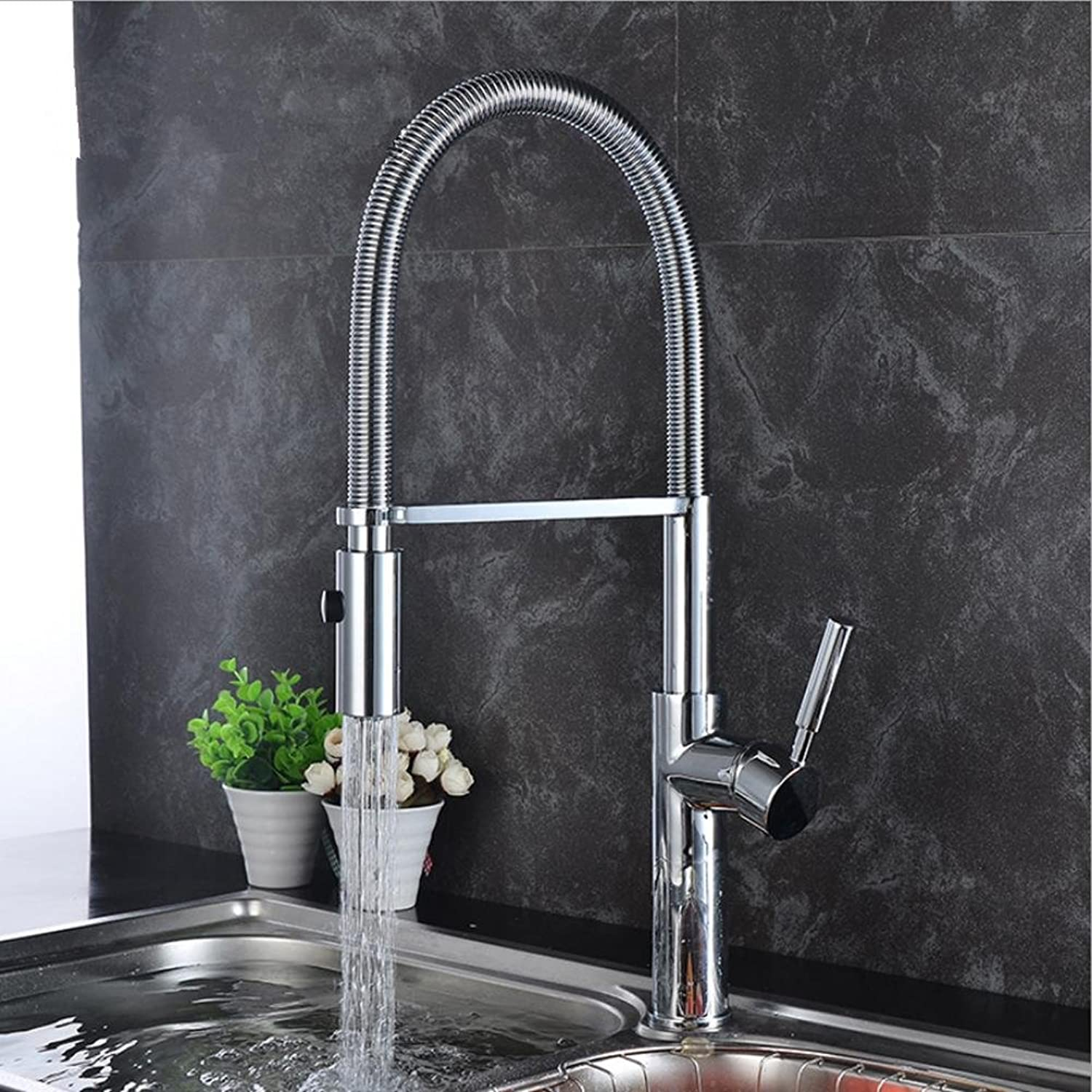 ZHIYUAN Fashion high-end ware Centerset Antique Hot and cold Single hole Faucets Retro copper Kitchen sink Mixing faucets?No delivery hose?