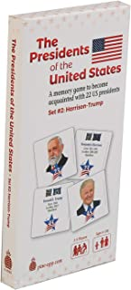 U.S Presidents Card Game Set #2 (Harrison-Trump) - Unique Memory Card Game for the Whole Family - Learn About the Recent 2...