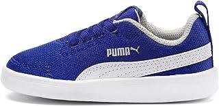 PUMA Courtflex Mesh Çocuk Ayakkabı Surf The Web-Puma White EUR 28