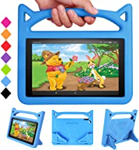 All-New Fire HD 10 2019 Case,Fire HD 10 Tablet Case-SHREBORN Light Weight Shock Proof with Stand Kid Proof Cover Kids Case for Amazon Fire HD 10.1