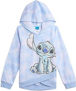 HASYH Lilo /& Stitch Women/'s Hoodies Hooded Sweatshirt Gray