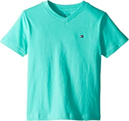 Tommy Flag V-Neck T-Shirt (Toddler/Little Kids)
