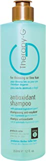 Therapy-G Antioxidant Shampoo (350ml 12 oz) for fine, thinning hair and anti hair loss. Protects hair color and prevents d...