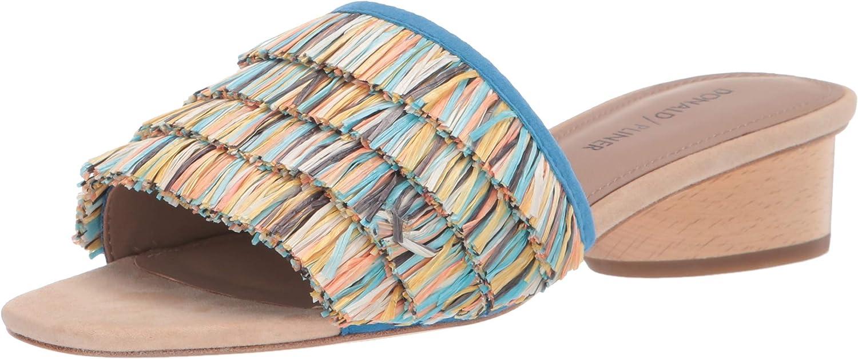 Donald J Pliner Women's Reise2-r Slide Sandal